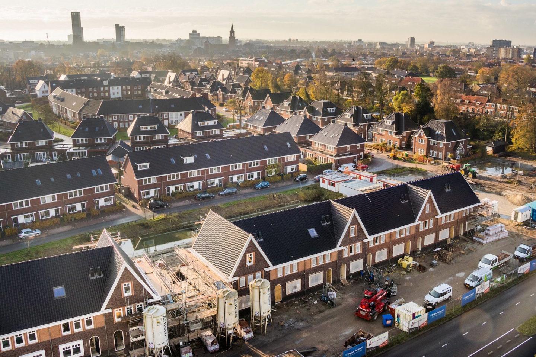 Tonnenburg Bonifatiuspark Leeuwarden, foto Bouwbedrijf Lont BV