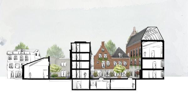 appartementen in voormalig Fries museum twa architecten