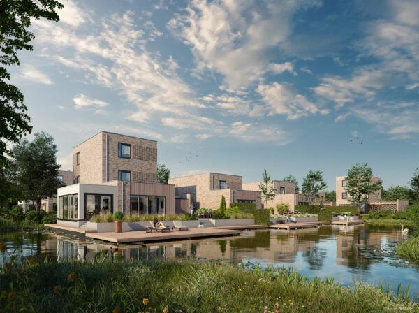 De Treffe Skoatterwâld TWA Architecten Impressie: Theo van Leur
